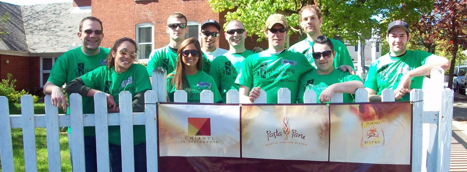DZ Restaurants Volunteers